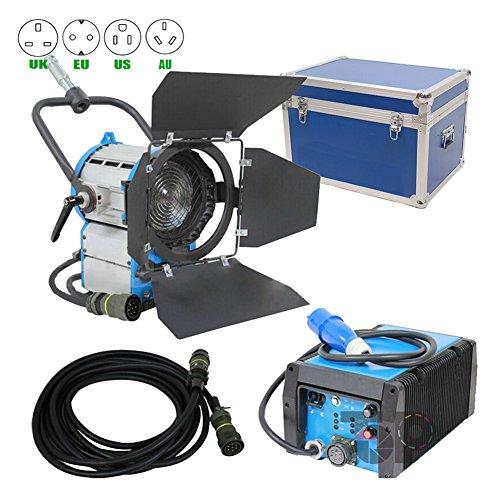 Flicker-free100% 575W HMI Fresnel-LICHT Vorschaltgerät OSRAM Leuchtmittel Fly Case