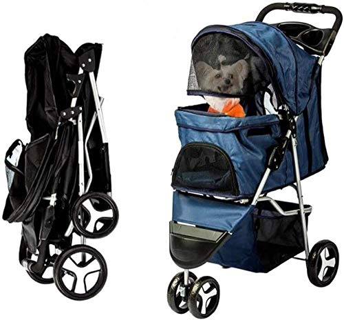 Dog Stroller-Pet Strollers for Small Medium Dogs & Cats Jogger-Carriages Best for Cat & Large Puppy