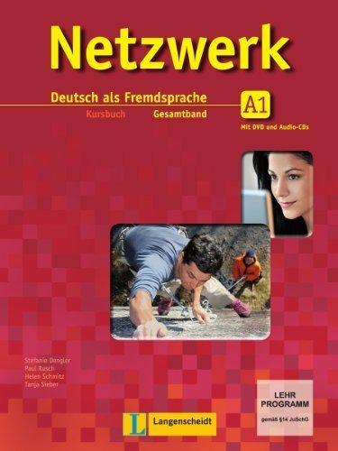 Netzwerk A1 - Kursbuch mit 2 Audio-CDs und DVD: Deutsch als Fremdsprache von Scherling. Theo (2012) Broschiert