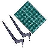 Craft Cutting Tools,utensile Artigianale in Acciaio Inossidabile con Fetta Rotante A 360 G...