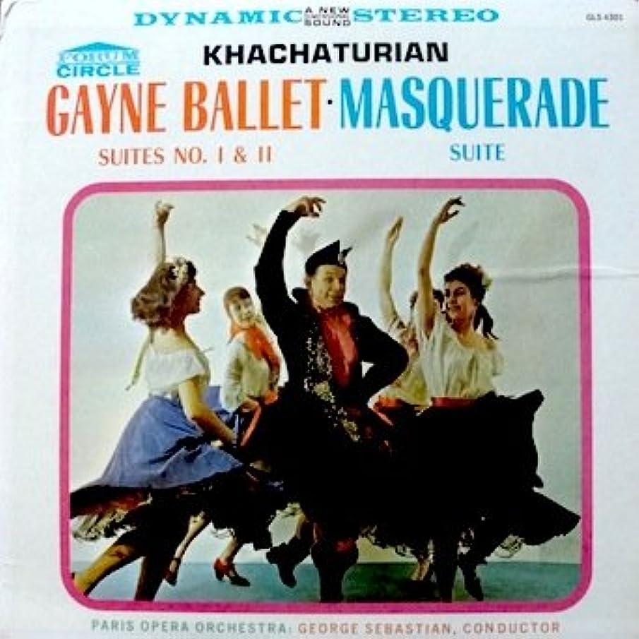 Khachaturian - Gayne Ballet; Suites No. 1 & 2 / Masquerade Suite Paris Opera Orchestra, George Sebastian, Conductor