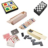 Partituki Pack Juegos de Mesa Clásicos Incluye: Mini Parchís, Mini...