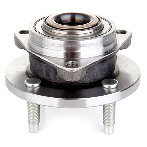 ECCPP 513205 4 Lugs Replacement for Front Wheel Hub Bearing Assembly fit for 03 04 05 06 07 Saturn Ion 05 06 07 08 09 Chevy Cobalt 05 06 07 08 09 Pontiac Pursuit G5