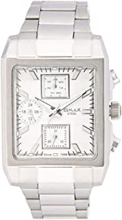 Omax Dress Watch For Men Analog Stainless Steel - 31SMP36