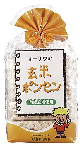 『オーサワジャパン オーサワの玄米ぽんせん 8枚』のトップ画像