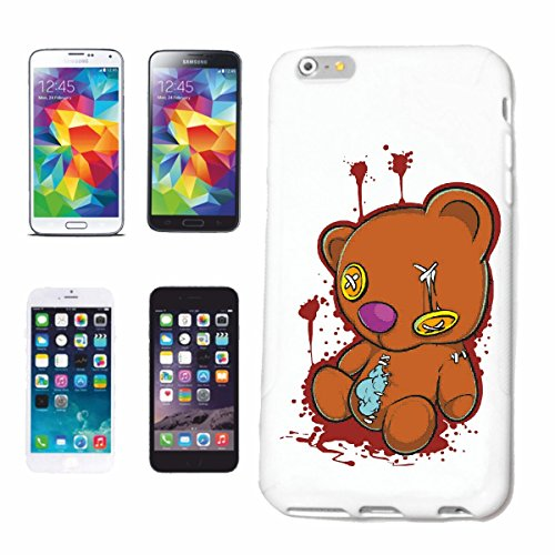 Reifen-Markt Handyhülle kompatibel für Huawei P9 KAPUTTER TEDDYBÄR VOM SPERRMÜLL Lifestyle Fashion Street WEAR Hiphop Legendary Salsa Hardcase Schutzhülle Handy Co