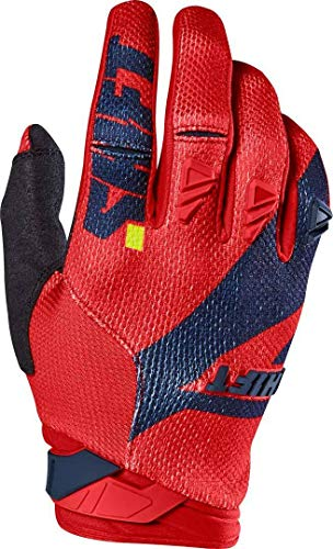 SHIFT MX 2017 Motocross/MTB Handschuhe - 3LACK PRO - blau-rot: Größe Handschuhe: L / 10
