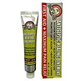 Brave Soldier Antiseptic Quick Healing Ointment with Tea Tree Oil,1 Ounce, Quick First AID with Botanical Blend for...