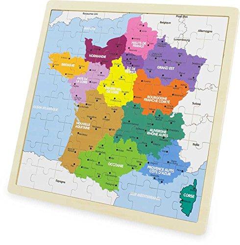 Odysseus – puzzel, Frankrijk, kaart, 3971