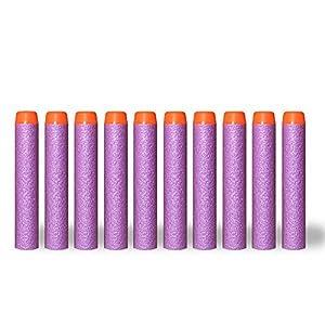 Puissance Ferhd Recharge de 100pcs 7.2cm en Mousse Bullet Fléchettes pour Nerf N-Strike Elite Mega Centurion Enfants Jouets