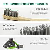 Zoom IMG-2 spazzolino bamboo 6 toothbrushes 2