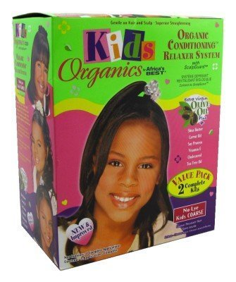 Africa's Best Kids Organic Relaxer Coarse Value Pack by Africa's Best