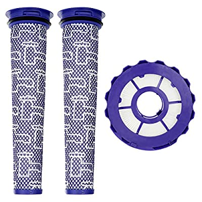 Wigbow HEPA Post-Motor Filter & Pre-Motor Filter Compatible with Dyson DC40. for Animal, Multi Floor, Origin and Total Clean Vacuums. Compare to Part # 923587-02 & 922676-01. (DC40)