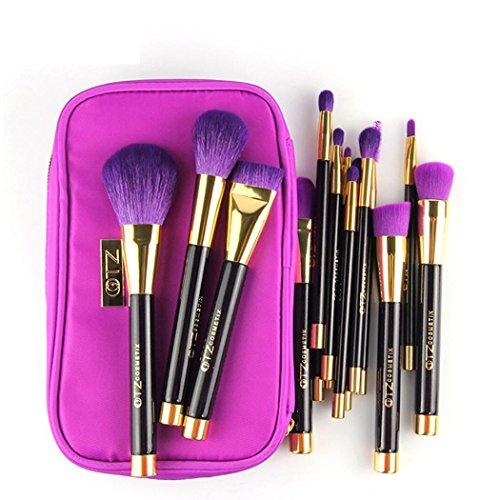 kingko® 15pcs / set de maquillage brosse cosmétiques Foundation Powder Eyeshadow Brosses
