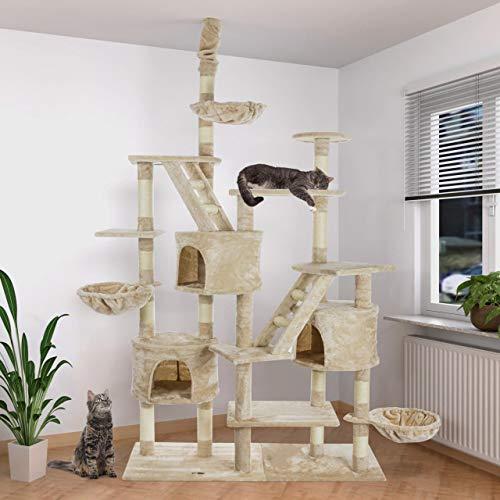 Happypet CAT013-3 Katzenbaum deckenhoch - 2