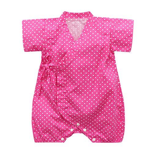 Zylione Baby Overall Retro Japanischer Yukata-Kimono-Overall Mit Kinderreimen