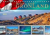 Reise nach Groenland (Tischkalender 2022 DIN A5 quer): Unterwegs in faszinierender Natur. (Monatskalender, 14 Seiten )