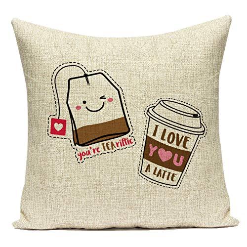Funda Cojine Funda Almohada Cojines de dibujos animados helado Throw Pillow Case Donut Bunny Sofá Cojín Cojín decorativo para el hogar Fundas de almohada Fundas sofá Decor Navidad Año nuevo regalo