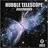 Hubble Telescope Discoveries - 2021 Hangable Wall Calendars by Red Ember Press - 12' x 24' When Open - Thick & Sturdy Glossy Paper - Expand your World & your Mind