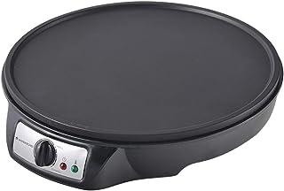 Wonderchef 63152431 elektrisk dosa, kräfta, pizza, pannkaka, rotimaker med temperaturkontroll, plast, 910 W, svart