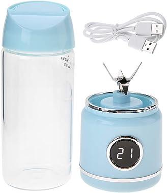 Electric Juicer - Portable USB Rechargable Electric Fruit Juicer Handheld Blender Juice Bottle Cup, Five safety system