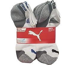 Amazon.com: Puma Men's Low Cut, White