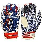 Spiderz Adult Hybrid Batting Glove...