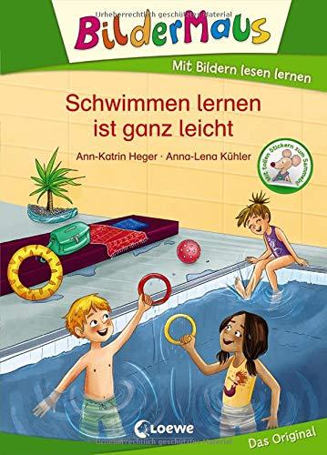 Bildermaus - Schwimmen lernen ist ganz leicht: Mit Bildern lesen lernen - Ideal für die Vorschule und Leseanfänger ab 5 Jahre