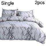 xMxDESiZ Marmorierung Single Full Queen King Bett Quilt Bettbezug Kissenbezug Bettwäsche-Set Spannbetttuch Single