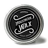 Charlemagne Moustache Wax - Schnurrbart Wachs für Herren - Bartwichse - Aus echtem Bienenwachs &...