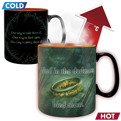 ABYstyle - Lord of The Ring - Mug Heat Change 460 ml Sauron