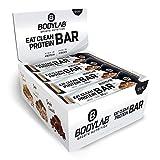 Bodylab24 Eat Clean Bar 12 x 65g | Protein-Riegel mit wertvollen Ballaststoffen | 20g Eiweiß pro Riegel | Leckerer Eiweißriegel für Fitness, Sport und unterwegs | Cookie Dough