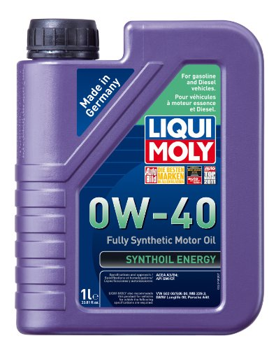 Liqui Moly 2049 Synthoil Energy 0W-40 Motor Oil - 1 Liter Bottle