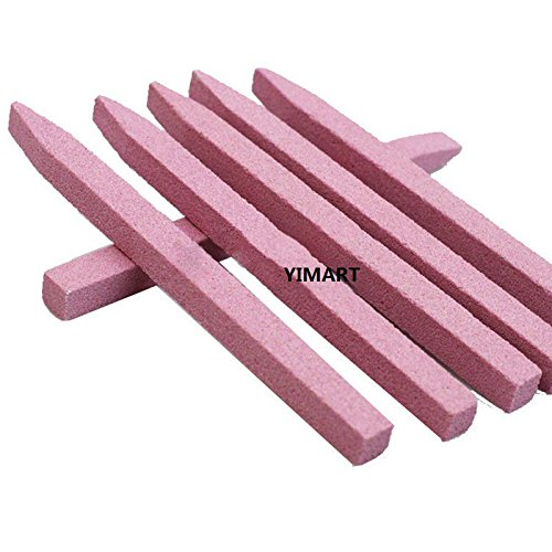 Yimart 5Pcs Nail Art Pedicure & Manicure Tools Stone Nail Files Cuticle Remover Trimmer Buffer Buffing