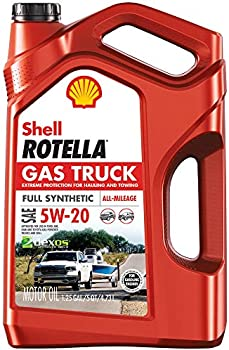 2-Pack Shell Rotella Synthetic Motor Oil 5 qt. Jug (5W-20 or 5W-30)