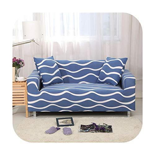 Funda de sofá Stretch universal cubierta de poliéster sofá cojín completo combinación -Garnet-4 asiento 230cm-300cm