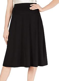 Kasper Women's Rib Knit Midi Aline Skirt