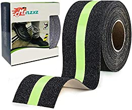 Anti Slip Grip Tape, Non-Slip Traction Tapes with Glow in The Dark Reduce The Risk of Slipping for Indoor or Outdoor Stair Tread Step and Other Slippery Surfaces - Keeps You Safe, 2 Inch x 16.4 Foot