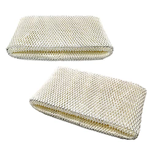 HQRP 2-Pack Wick Filter Compatible with Bionaire BWF75 Filter D Replacement BCM3656 BCM3855 BCM3955 BCM3656-UM BCM3855C BCM3600 Humidifiers