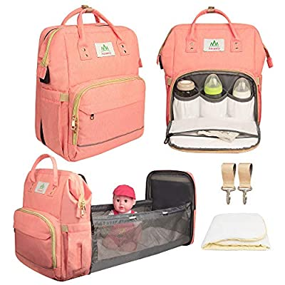 Amazon Promo Code Baby bassinets of Diaper Bag Backpack FoldableTravel Baby 09072021013410
