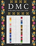 DMC Embroidery Floss Color Chart: Names, Codes, Shades, and Columns to Stick Threads