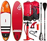Fanatic Fly Air Premium 10.8 Hinchable SUP WINDSURF TABLA SURF de Remo Set Completo