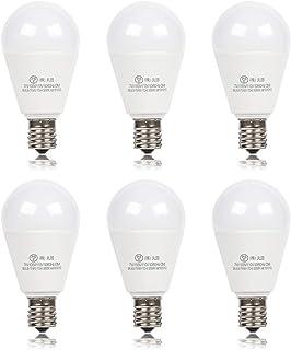 xydled LED電球 E17口金 60W形相当 730lm 調光器対応 電球色 7W LED 電球 e17 広配光タイプ 密閉形器具対応 60形 6個セット (電球色)