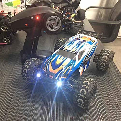 DBXMFZW 1:18 Proporción de Alta Velocidad 4WD Off-Road Control Remoto Control 2.4G Wireless Bigfoot Monster RC Truck RC Modelo, suspensión Independiente Mountain Drift RC Gifts para niños y niñas