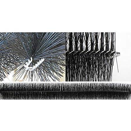19,2m /Ø15cm Laubschutz Rinnenraupe Laubfang Dachrinnenschutz Laubstop Regenrinnenschutz 3,95/€//m