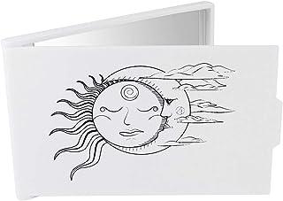 'Sun & Moon' Compact / Travel / Pocket Makeup Mirror (CM00024218)