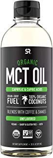 Organic Premium MCT Oil from Non-GMO Coconuts - 20 Oz | Unflavored, Best for Keto Coffee, Tea, Smoothie, Salads | Non-GMO ...