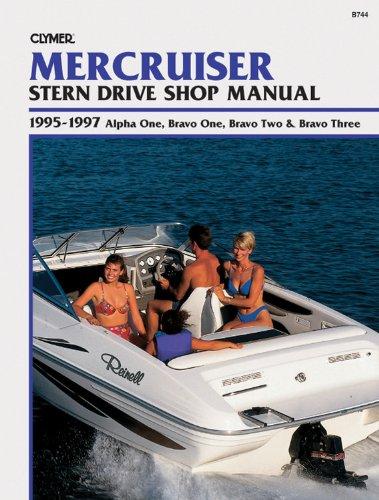 Mercruiser Stern Drive Shop Manual: 1995-1997 Alpha One, Bravo One, Bravo Two & Bravo Three