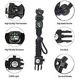 Zoom IMG-2 braccialetto paracord sopravvivenza militare kit