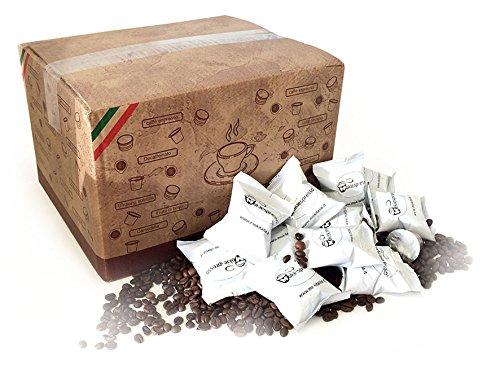 100 Cialde Capsule caffè MOKIESPRESSO compatibili NESPRESSO gusto INTENSO Gran Cru